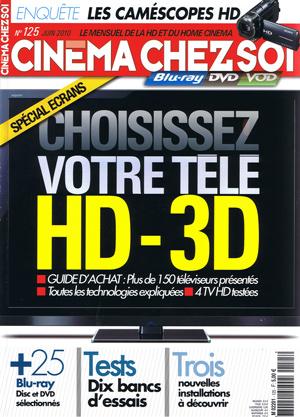 Hocinema pr sent dans le magazine cin ma chez soi n 125 for Magazine decoration chez soi