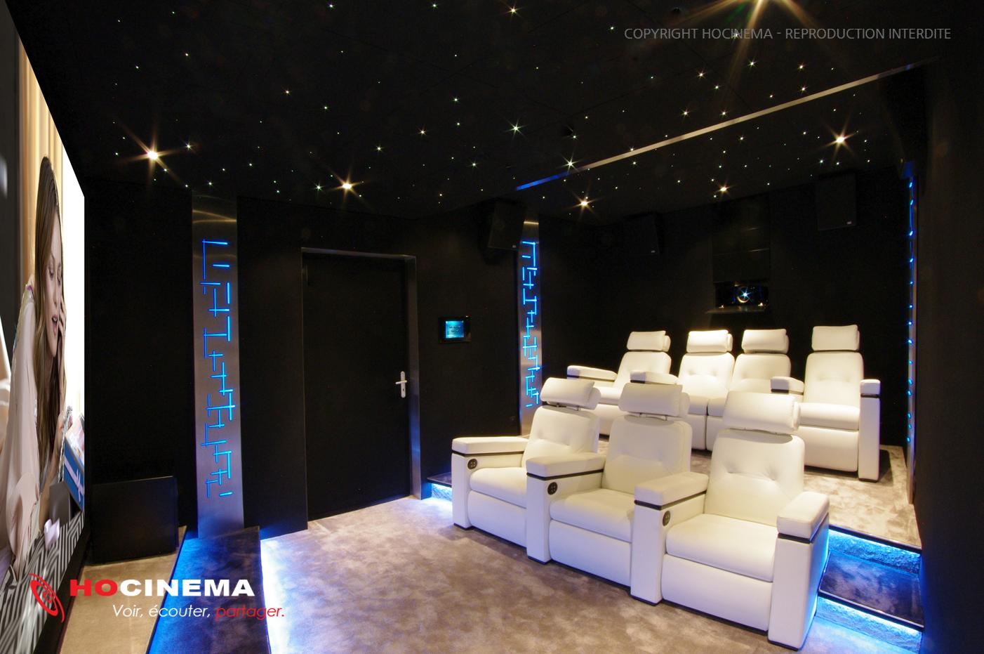 Construire Salle Dédiée Home Cinema de la Salle Home Cinéma