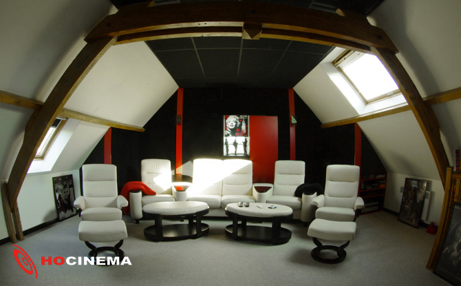Plus qu un cin ma priv une salle multim dia - Salle de cinema privee ...